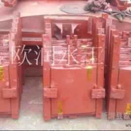 现货供应铸铁闸门,尺寸400*400mm铸铁方闸门