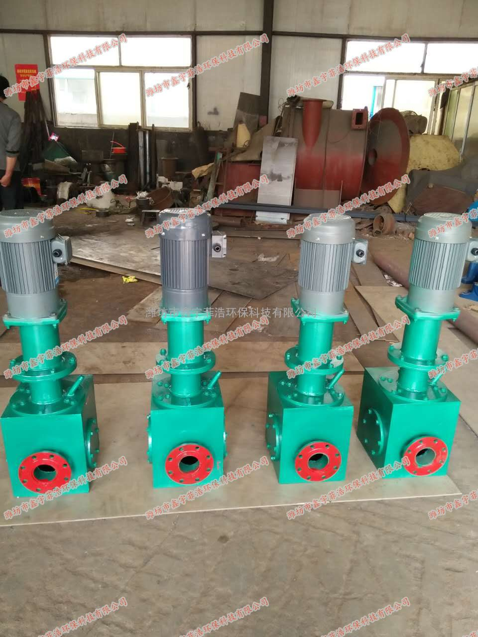 管道污泥切割机 双刀污泥切割机使用效果分析报告