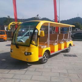 重庆KRD-D14景区观光车/重庆燃油观光车