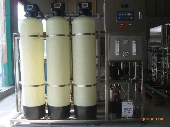 矿泉水设备唐山不锈钢水箱河北纯净水设备河北软水