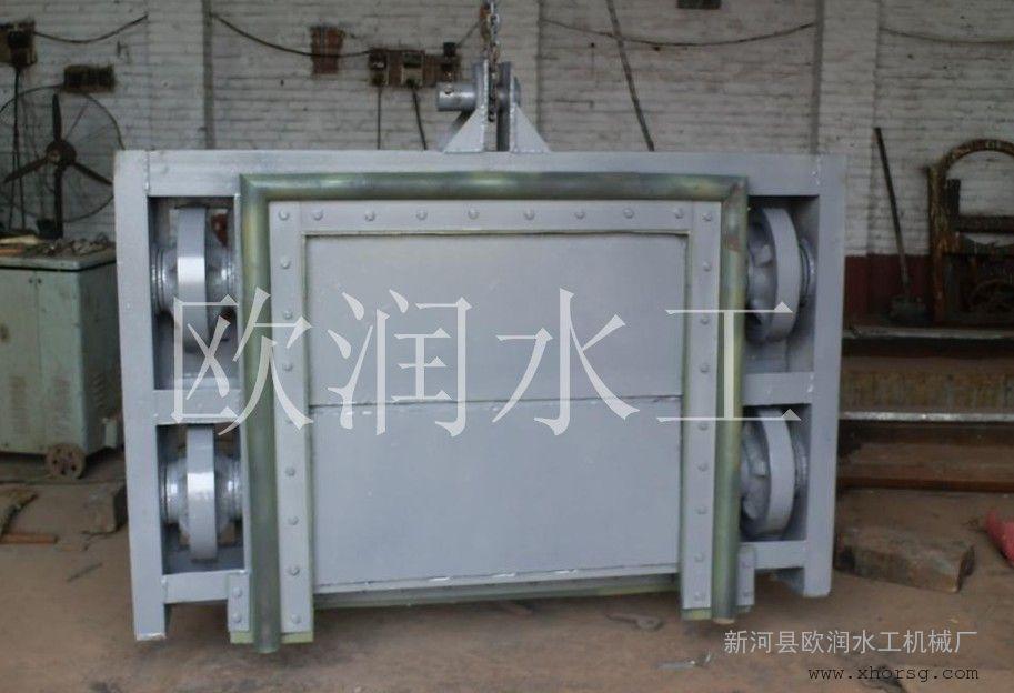 厂家销售碳钢闸门防腐喷锌钢制闸门钢闸门欧润水工质量保证