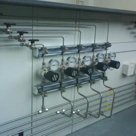 酒厂化验室气路安装改造施工