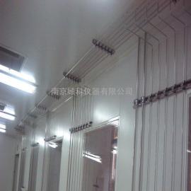 药厂化验室气路改造安装