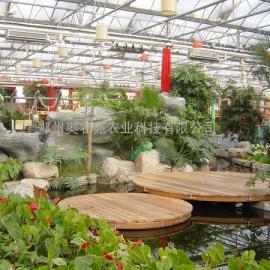 生态园生态餐厅温室大棚建造(图)