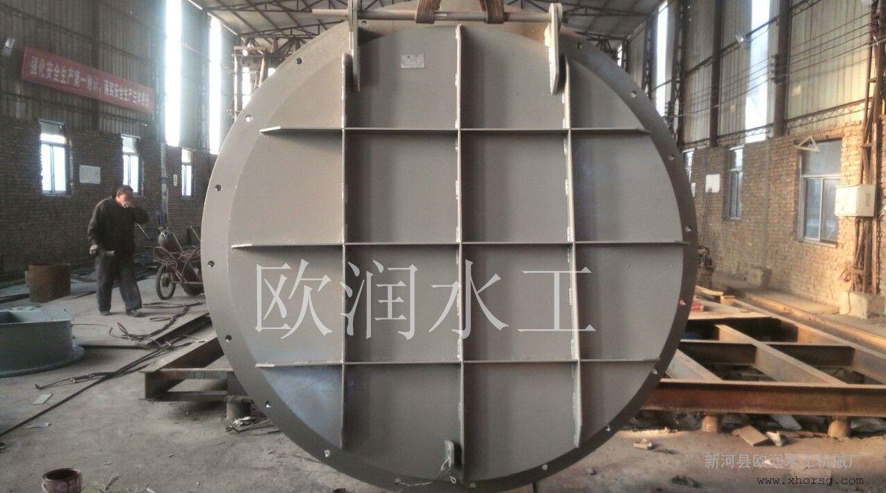 厂家定做碳钢拍门钢拍门的型号各种型号齐全选欧润水工
