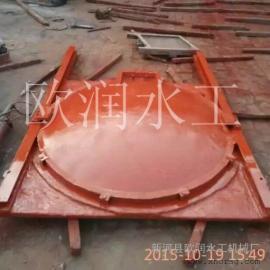 加工定做铸铁圆形闸门,直径1米铸铁闸门