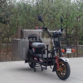 二轮单车型节能环保移动蒸汽清洗机