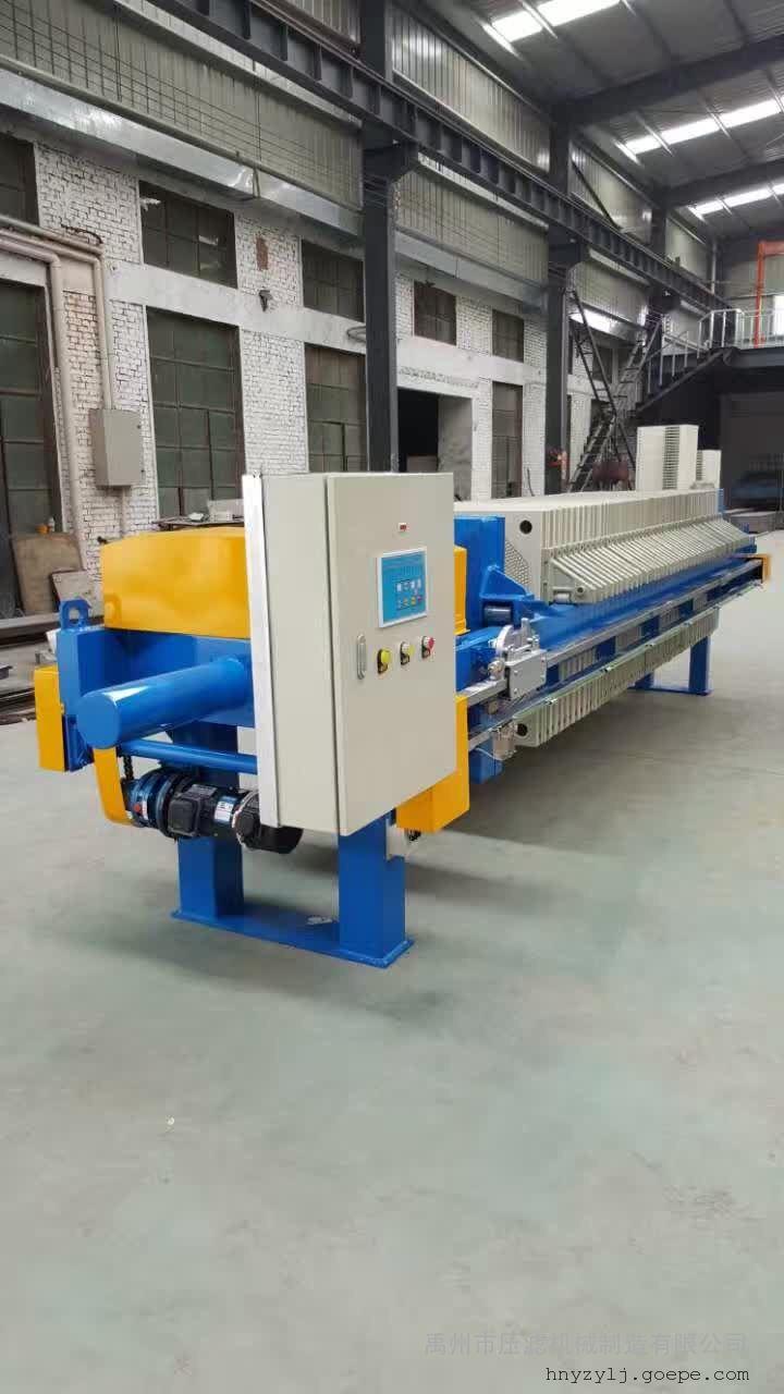 石化污水、油气污水处理专用高效PLC压滤机