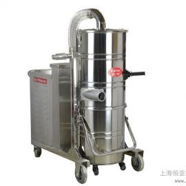 大功率吸尘器工厂车间厂房配套用上下分离式尘桶电源380V