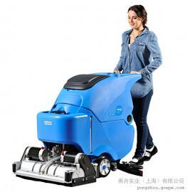 地面缝隙内的污垢清洗用洗地机|容恩洗扫一体机R65RBT