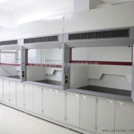 禄米厂家 实验室学校化学通风柜 耐酸碱排毒通风橱 排气柜