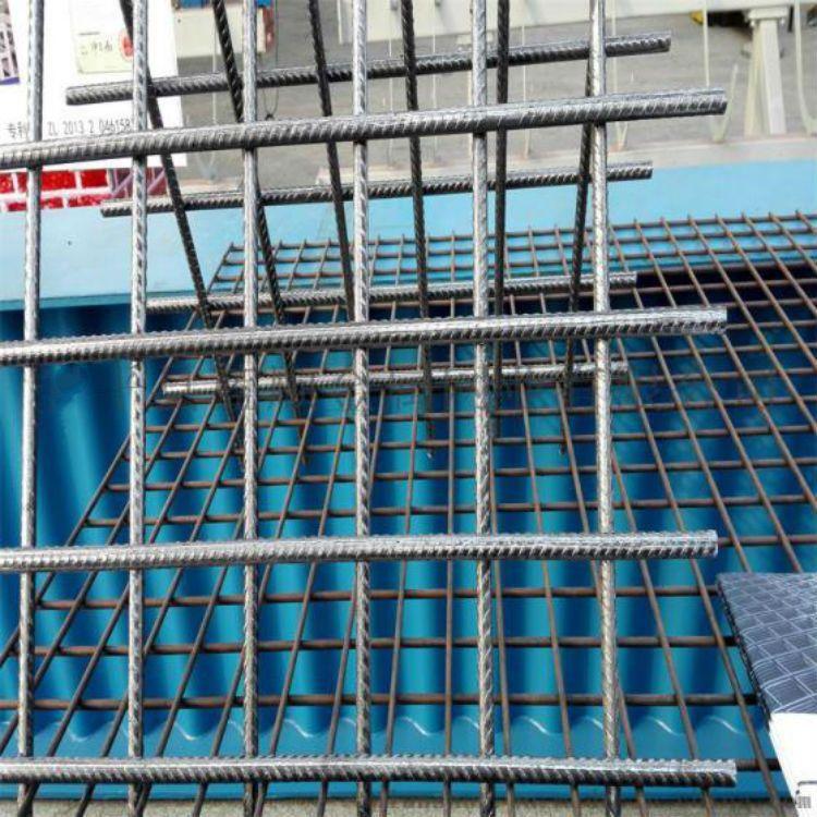 青岛桥梁专用HRB400带肋钢筋网片加工厂家定做大尺寸焊接网片