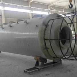 临汾玻璃钢锅炉脱硫塔工作原理