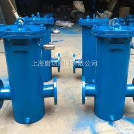唐功GCQ型自洁式排气水过滤器 自洁排污过滤器