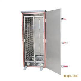 生产供应蒸馒头蒸箱 蒸馒头蒸车 蒸馒头蒸房 电蒸箱--博远厨业
