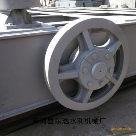 匠工精品 中国造 东浩定轮钢闸门 滑动钢闸门 滑轮钢闸门