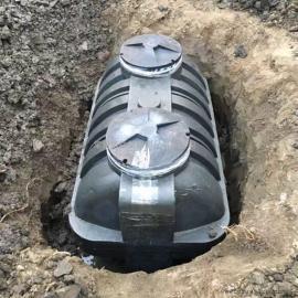 泉州1.5吨防腐蚀塑料化粪池滚塑化粪池三格式化粪池厂家