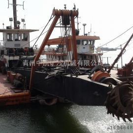 清淤船、疏通船、河流清淤船、海上清淤船、清淤疏通工作平台