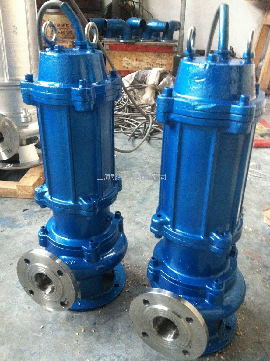无堵塞自动搅匀潜水泵