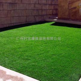 人工绿化草,景观休闲双色人造草坪,PE材质2公分草丝塑料草