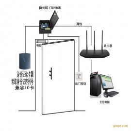 新长远二代身份证门禁考勤系统 TCP/IP网络/脱机