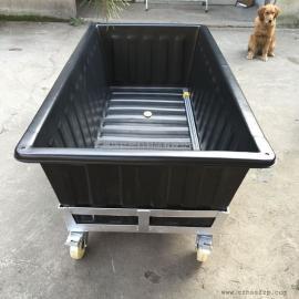 蒙城1200L塑料方箱不斗车推布车批发价格