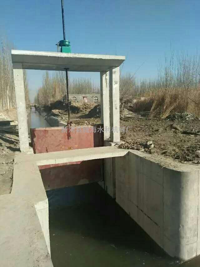 鱼塘排水闸门如何设计