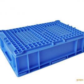 HP4A蓝色塑料物流箱 丰田专用汽车物流箱