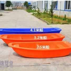 卓逸塑业3.2牛筋塑料船渔船捕鱼船价格