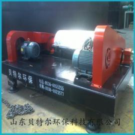 食品污泥处理设备 卧螺离心机 山东贝特尔泥浆脱水机