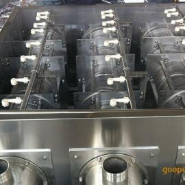 小型叠螺式电动污泥脱水机定做厂家 安装方便 全自动运转