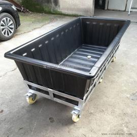 天长K1100L方形布草车推布车纺织桶批发价