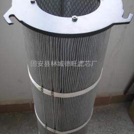 外三耳防静电吊装除尘滤芯 高效覆膜防静电除尘滤芯