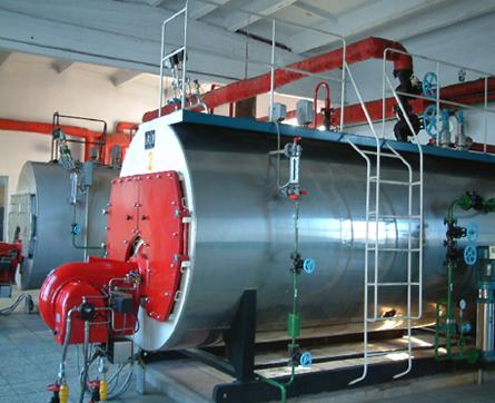 恒安6吨蒸汽锅炉 工业燃气蒸汽锅炉 6吨蒸汽锅炉厂家