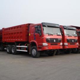 豪沃6.3米工程自卸车