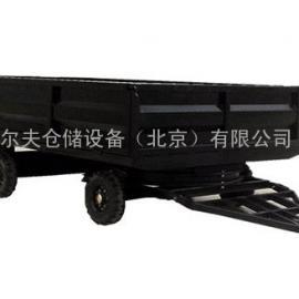 6吨拉货平板车 牵引挂车 拖车 工厂机场搬运车 牵引车北京