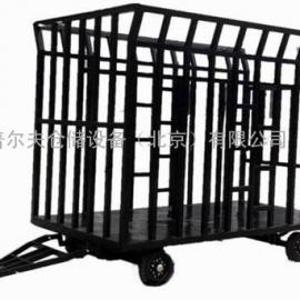 专业定做平板拖挂车 车间工具车 牵引拖车 8吨框架式平板车