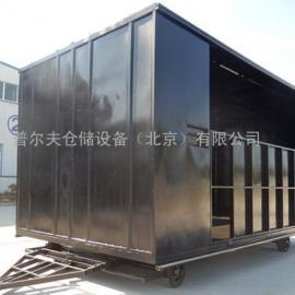 定制箱式平板车 牵引挂车 机场搬运车 拖车 电动牵引车北京