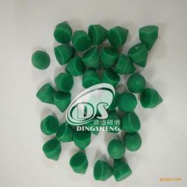 鼎盛研磨供应粗磨180-320目绿色三角树脂研磨石