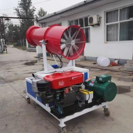 广元风送式喷雾机怎么使用雾炮