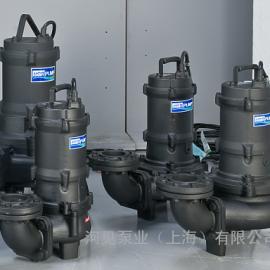 台湾河见HCP-AF型潜水泵-无阻塞渣浆泵