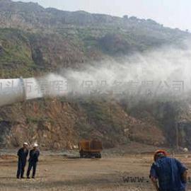 建筑工地风送抑尘雾炮机设备高压喷雾湿式除尘器
