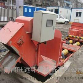 WY-100G四滚轴洗轮机四轴联动高效清洗工程车辆