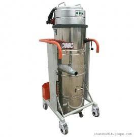 进口质量工业吸尘器 正规工业厂房保洁用上下桶吸尘器