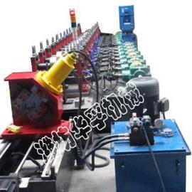 潍坊HF高速公路护栏板冷弯成型设备护栏板成型设备