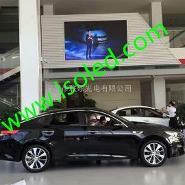 4S店室内LED大电视屏幕P4全彩显示屏价格