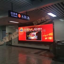 商场广告led显示屏价格多少钱一平方 P5全彩大屏效果图