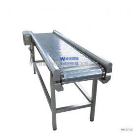 不锈钢链板式食品输送机械 威诺网链 春节促销