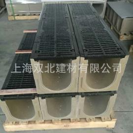 上海缝隙式线性成品树脂混凝土排水沟 树脂混凝土排水沟供应商