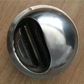 sus304不锈钢风帽 侧墙防虫防雨罩 100型号风帽